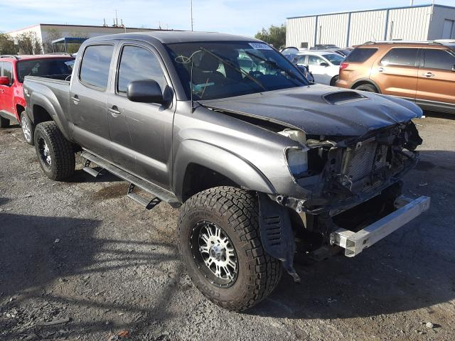 Salvage cars for sale from Copart Las Vegas, NV: 2011 Toyota Tacoma DOU