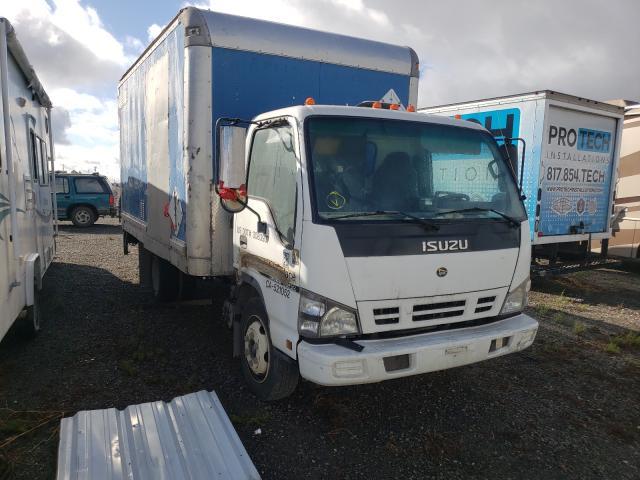Isuzu salvage cars for sale: 2007 Isuzu NQR