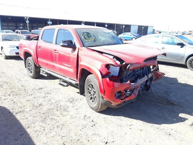 Salvage cars for sale at Phoenix, AZ auction: 2020 Toyota Tacoma DOU