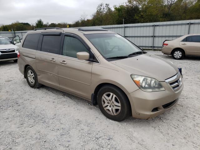 Salvage cars for sale at Prairie Grove, AR auction: 2007 Honda Odyssey EX