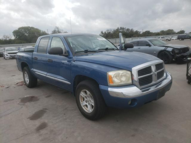 Vehiculos salvage en venta de Copart Wilmer, TX: 2005 Dodge Dakota Quattro