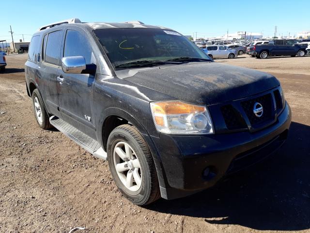 Salvage cars for sale at Phoenix, AZ auction: 2008 Nissan Armada SE