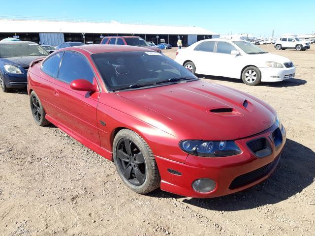 Salvage cars for sale at Phoenix, AZ auction: 2006 Pontiac GTO