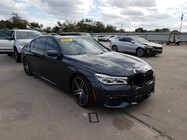 2018 BMW 750 I en venta en Wilmer, TX