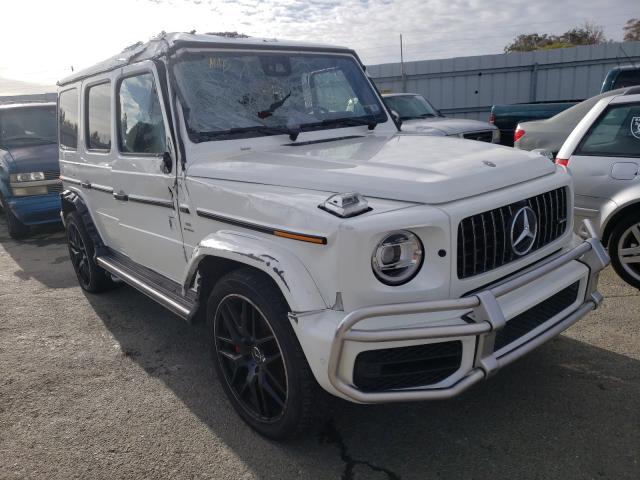 Vehiculos salvage en venta de Copart Martinez, CA: 2019 Mercedes-Benz G 63 AMG