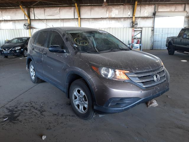 Salvage cars for sale at Phoenix, AZ auction: 2014 Honda CR-V LX