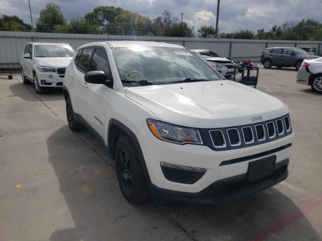Vehiculos salvage en venta de Copart Wilmer, TX: 2018 Jeep Compass SP