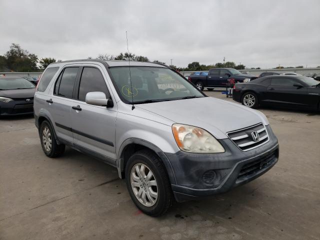 Vehiculos salvage en venta de Copart Wilmer, TX: 2005 Honda CR-V EX