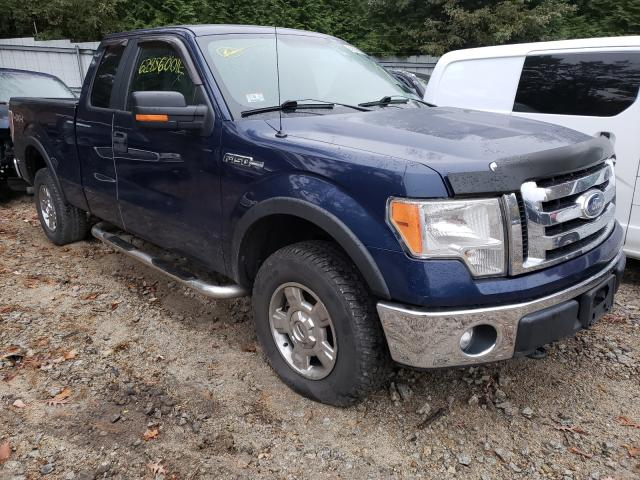 Salvage cars for sale from Copart Mendon, MA: 2011 Ford F150 Super