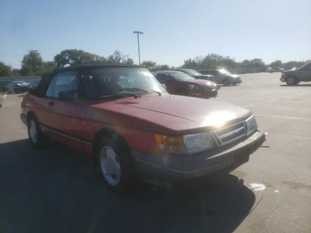 Vehiculos salvage en venta de Copart Wilmer, TX: 1991 Saab 900 Base