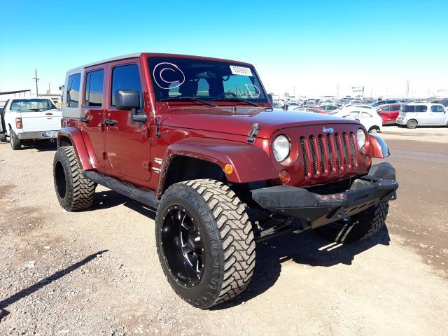 Salvage cars for sale at Phoenix, AZ auction: 2010 Jeep Wrangler U