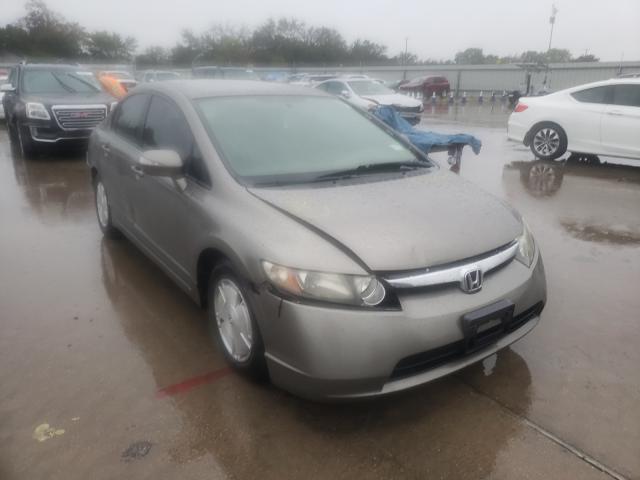2007 Honda Civic Hybrid en venta en Wilmer, TX
