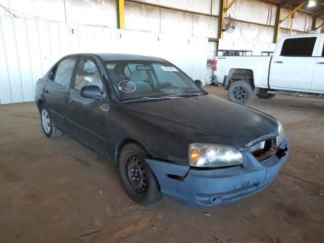 Salvage cars for sale at Phoenix, AZ auction: 2004 Hyundai Elantra