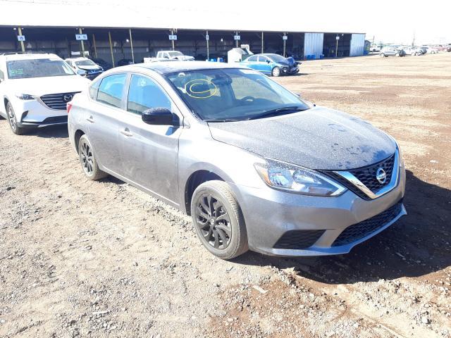 Salvage cars for sale at Phoenix, AZ auction: 2018 Nissan Sentra S