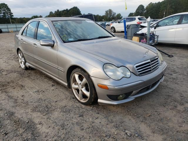 Salvage cars for sale at Conway, AR auction: 2006 Mercedes-Benz C 230