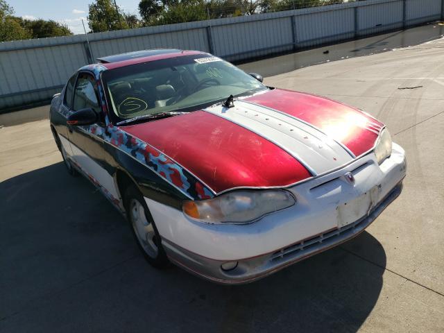 2002 Chevrolet Monte Carl en venta en Wilmer, TX