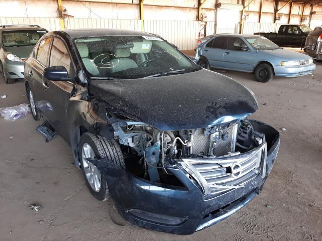 Salvage cars for sale at Phoenix, AZ auction: 2015 Nissan Sentra S