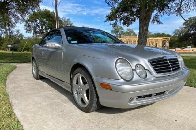 2003 Mercedes-Benz CLK 430 en venta en Temple, TX