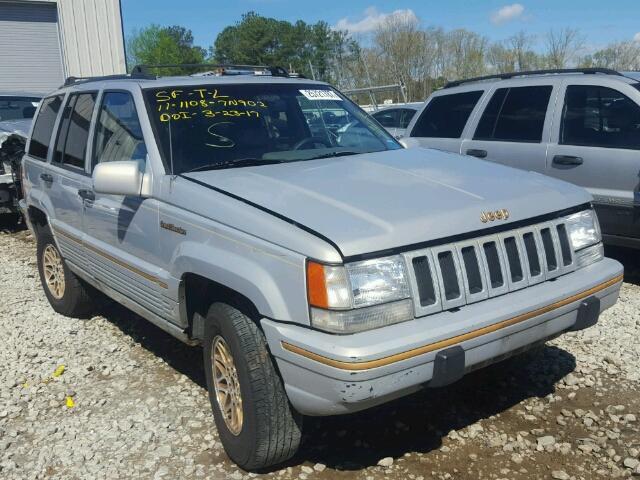 1994 jeep grand cherokee for sale at copart ellenwood ga lot 25721787. Black Bedroom Furniture Sets. Home Design Ideas