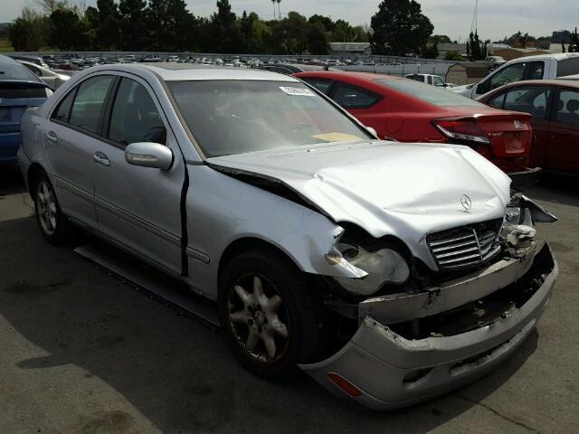 Subasta De Vehiculo De Vin Termino Wdbrf61j41f043866 2001 Mercedes Benz C240 En Ca Vallejo