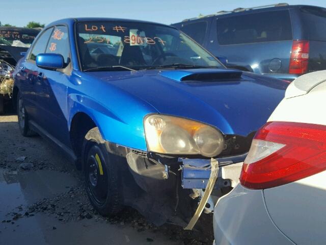 Salvage V   2004 Subaru Wrx