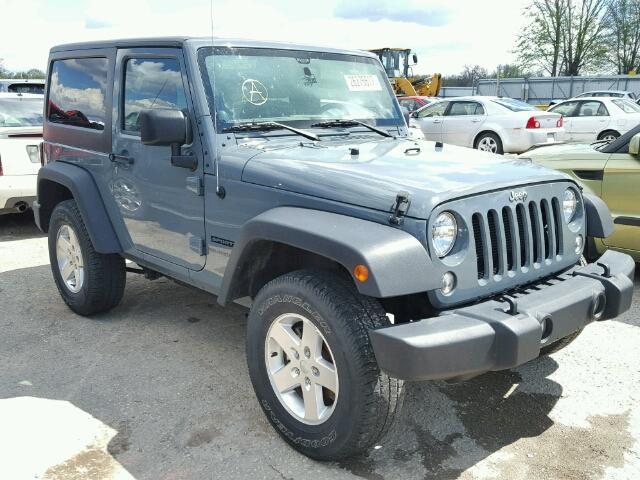 Salvage V | 2014 Jeep Wrangler