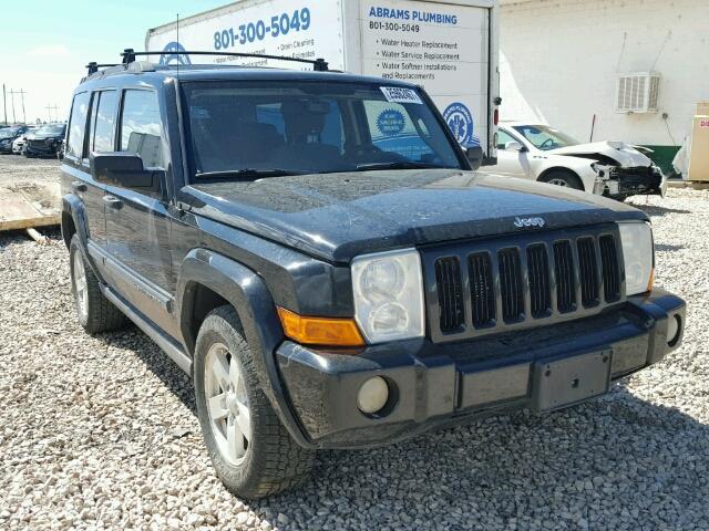 2006 jeep commander for sale at copart farr west ut lot 25962467. Black Bedroom Furniture Sets. Home Design Ideas