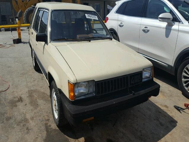 1983 TOYOTA TERCEL SR5 1.4L