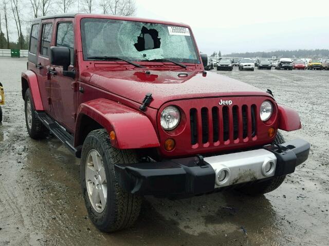 Salvage V | 2012 Jeep Wrangler